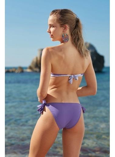 Marie Claire Straplez Dolgulu Bikini Renkli